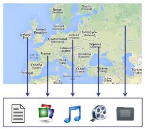 info-modell karte