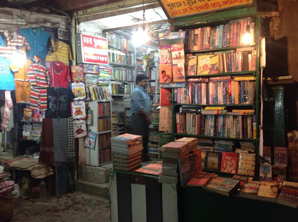 a Bookshop in Kalkutta