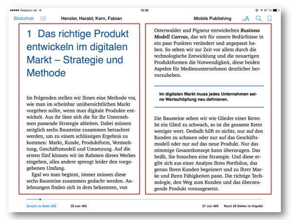 iBooks-Layout